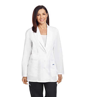 LADIES FITTED FASHION LAB COATS