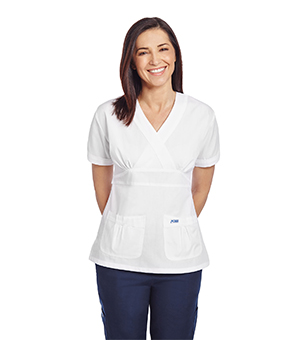 EMPIRE TIE BACK SCRUB TOPS