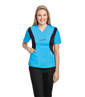 ACTIVE FLEXI V-NECK SCRUB TOPS