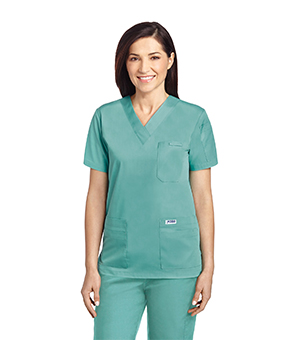 V NECK SCRUB TOPS