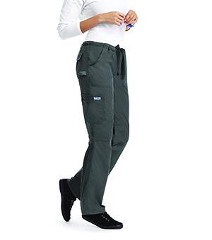 COMFORT RISE DRAWSTRING ELASTIC SCRUB PANTS