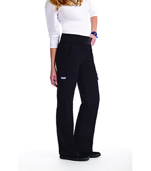 FLEXI WAIST SCRUB PANTS