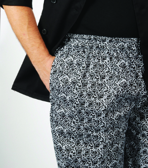 UNISEX BAGGY CHEF PANTS