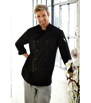 ZIPPER CLOSURE CHEF COATS