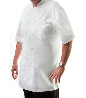 SHORT SLEEVE CHEF COATS(UNISEX)