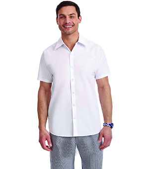 SHORT SLEEVE PROFESSIONAL KITCHEN CHEF TOPS