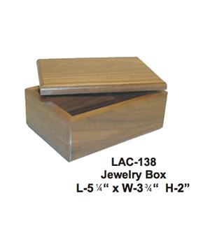 WALNUT DESK TOP BOX
