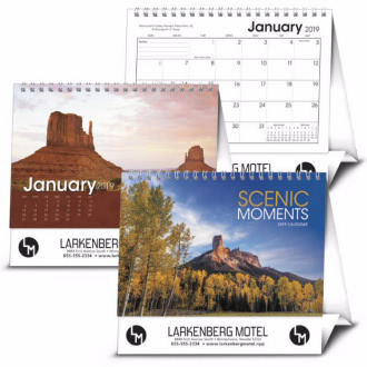 DESK CALENDAR (SCENIC MOMENTS LG)