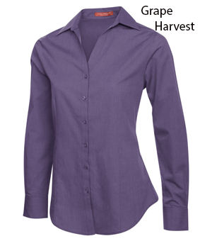 COAL HARBOUR® TEXTURED LADIES WOVEN SHIRT
